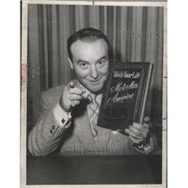 1955 Press Photo Ralph Edwards Radio Television Host In Program This Is YourLife