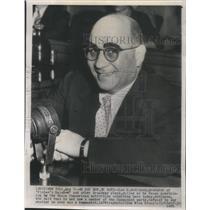 1953 Press Photo Lee S Sabinson Finian's Rainbow Producer - RSC30109
