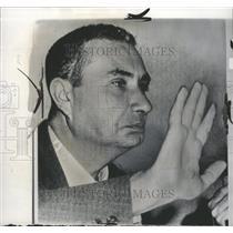 1963 Press Photo Aldo Moro Christian Democratic Party - RRW42399