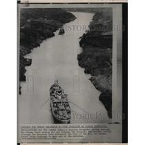 1964 Press Photo Panama Canal - RRX74269