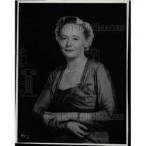 1963 Press Photo Netherlands VanRoijen Wife Anne - RRX71171