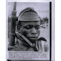 1963 Press Photo KInkuzu army training camp Angola seek - RRX49523