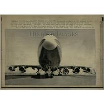 1970 Press Photo 5 engine Boeing 747 - RRW56687