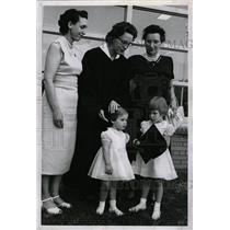 1959 Press Photo Mrs. R. H. Bonham Jr. & Family - RRW27259