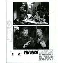 1966 Press Photo Mel Gibson, Gegg Henry & Lucy Lu - RRW27139