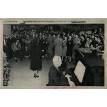 1949 Press Photo Denver Christmas Party - RRX63659