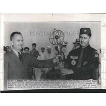 1959 Press Photo Pan American Olympic Torch Relay - RRW52065