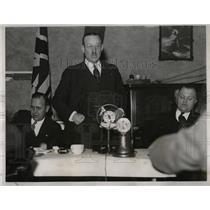 1934 Press Photo Park Kiwanis club went Air Last Radio - RRX67131