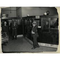 1932 Press Photo Bank Robbery Colorado - RRX68777