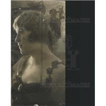 1928 Press Photo Mrs Ruth Nicholas Melville Hospital - RRX87559