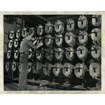 1943 Press Photo Coils Westinghouse Flexarc Welders - RRW64569