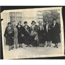 1931 Press Photo War Mrs.Lowrll Fletcher American - RRX81269
