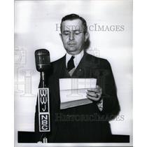 1941 Press Photo Union Organizer Michael F. Widman, Jr. - RRX57893