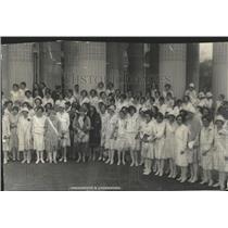 1928 Press Photo Daughters Washington DAR convention - RRX83413