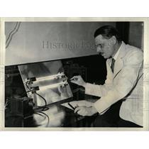 1937 Press Photo William Frank Wells Harvard Medical - RRX78479