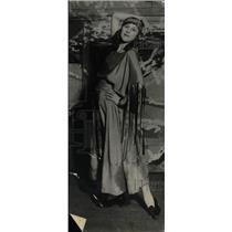 1925 Press Photo Virginia Jamison Dry Climate Elgar - RRW78843
