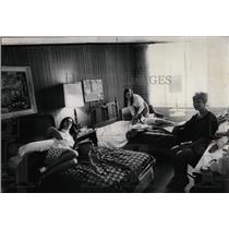 1968 Press Photo Edgewater Beach Hotel Hall Chicago - RRW04953
