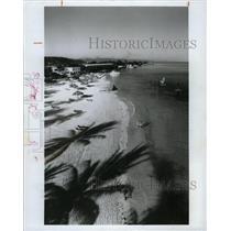 1965 Press Photo Sandals Resort Montego Bay Beach