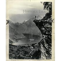 1964 Press Photo Geiranger Fjord Western Norway - RRX70971
