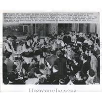 1966 Press Photo Oratorian Fathers Italian Youth Band - RRX80763