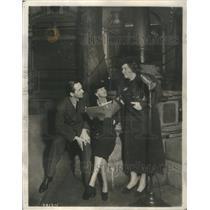1940 Press Photo Mr. & Mrs Fredric March- RSA99045
