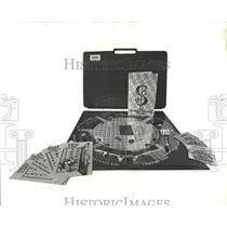 1972 Press Photo Family Board Games Howard Hughes Sets - RRW52815