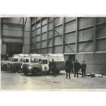 1968 Press Photo OHare Field Police Plane Crash Scene - RRY01125