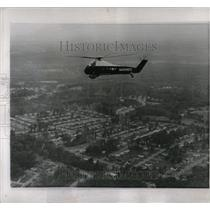 1959 Press Photo Marine Corps copter Washington flies