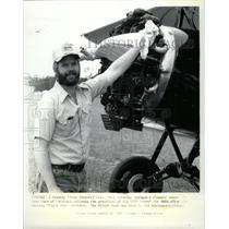 1982 Press Photo Sport Aviation Antique & Classic Show