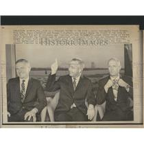1969 Press Photo Frank Borman James McDevitt Apollo - RRX98035