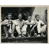 1936 Press Photo Detroit City High school Tennis Champ - RRW01065