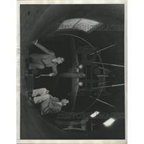 1935 Press Photo Douglas Transport Plane Model Cal Tech - RRX93433