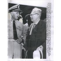 1958 Press Photo Kishisaburo Nomura, Japanese Ambassador to the United Nations