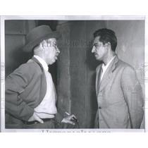 1954 Press Photo Major Jaime Rosenberg Guatemala Secret Service Chief Arbenz