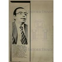 1974 Press Photo Francesco Paolo Bonifacio - RRW27251
