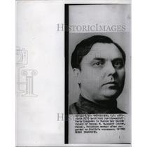 1952 Press Photo Communist Party Moscow Malenkov Stalin - RRW98509