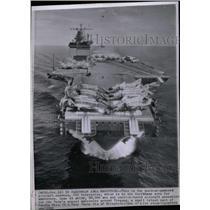 1962 Press Photo aircraft carrier USS Enterprise - RRX69451