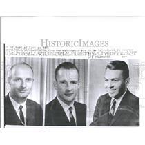 1962 Press Photo Houston astronauts conference Edward