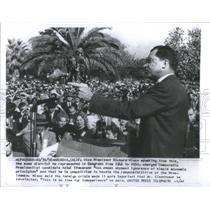 1956 Press Photo Vice President Richard Nixon Mrs Eisenhower Congress California