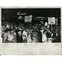 1931 Press Photo Grand Circus Park Communists - RRW89673
