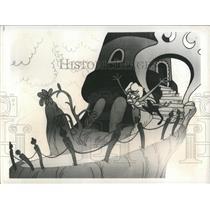 1973 Press Photo Dr. Seuss Cartoon Character - RRX86189