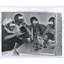 1960 Press Photo Africa People