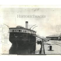 1938 Press Photo Farragut's Flagship To Be Restored