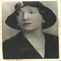 1933 Press Photo Mrs. Leroy Hinman Lamont Music School