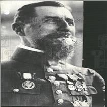 1929 Press Photo Henri Joseph Eugène Gouraud General