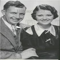 1933 Press Photo Actor Devine and House married.