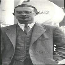 1931 Press Photo Geo Latt Tennis