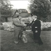 1934 Press Photo Harry Kipke University Michigan Coach