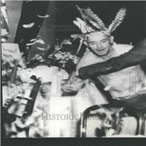 1936 Press Photo Woody Hockaday American Entertainer