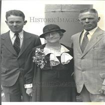 1933 Press Photo William Dodd Professor History